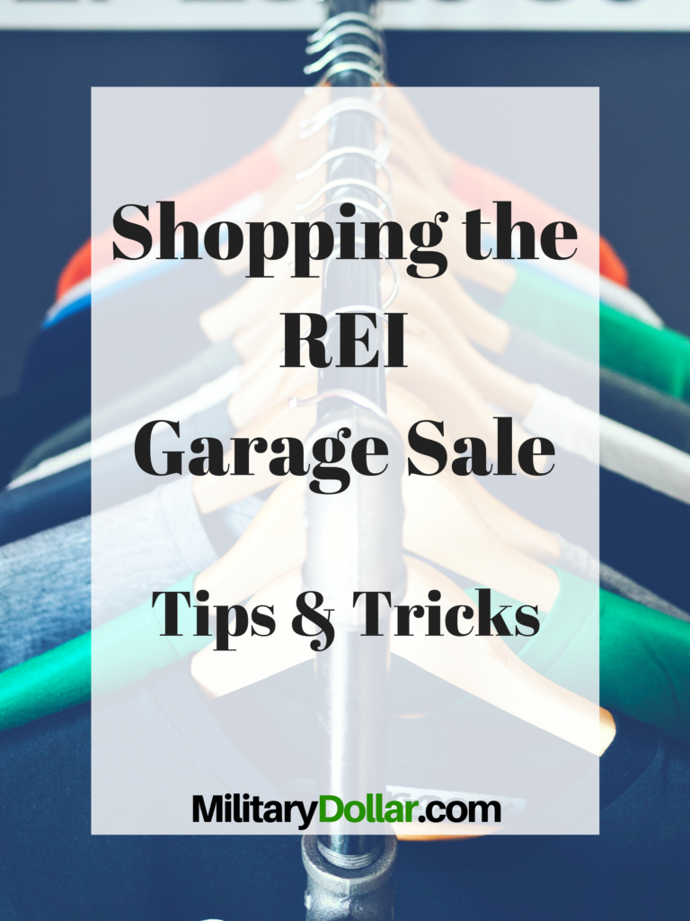 Rei Garage Sale Tips And Tricks Military Dollar
